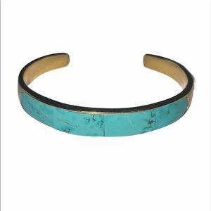 Pamela Love Irissa Bracelet Turquoise Gold plated